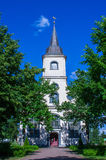Baltezers church in Latvia Stock Images
