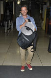 Balthazar Getty à l'aéroport de LAX Photos stock