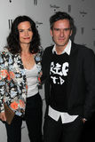 Balthazar Getty. And wife  at the W Magazine Best Performances Issue Golden Globes Party, Chateau Marmont, West Hollywood, CA 01-13-12 Royalty Free Stock Photography