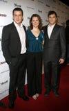 Balthazar Getty, Jennifer Howell e Joaquin Phoenix Fotografie Stock