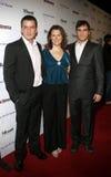 Balthazar Getty, Jennifer Howell und Joaquin Phoenix stockfotografie