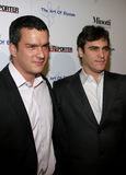 Balthazar Getty and Joaquin Phoenix. WEST HOLLYWOOD, CALIFORNIA. November 30, 2005. Balthazar Getty and Joaquin Phoenix attend the Art of Elysium Presents Russel Stock Photo