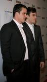 Balthazar Getty und Joaquin Phoenix stockfotografie