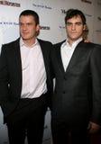 Balthazar Getty und Joaquin Phoenix lizenzfreies stockbild