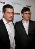 Balthazar Getty und Joaquin Phoenix stockfoto
