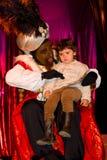 Balthazar King och liten flicka Royaltyfria Bilder