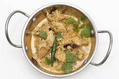 Balti chicken pasanda in a kadai bowl Royalty Free Stock Photography