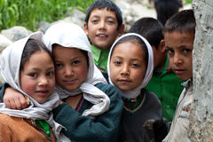 Balti children, India