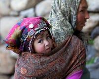 Balti folk, Ladakh Royaltyfri Foto