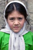 Balti schoolgirl from Ladakh, India Royalty Free Stock Photography