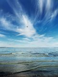 Baltic. Waterscape of Baltic sea in Estonia Stock Image