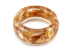 Baltic amber bracelet Stock Images