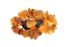 Baltic amber Jewelry Royalty Free Stock Image
