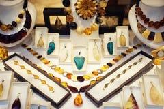 Baltic Amber Shop Royalty Free Stock Photo