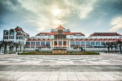 Baltic architecture of Sopot Royalty Free Stock Photography