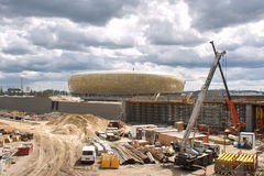Baltic Arena Stadium. Stock Photo