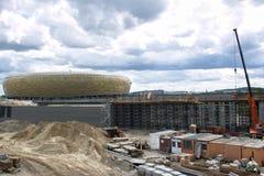 Baltic Arena Stadium. Royalty Free Stock Photography