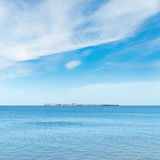 baltic błękitny chmur morza niebo Zdjęcie Royalty Free