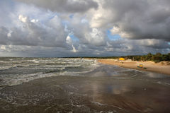 Baltic beach. Royalty Free Stock Photos