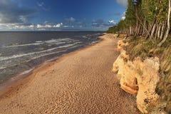Baltic beach Stock Photos