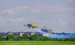Baltic Bee Airplane Stock Photo