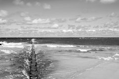 Baltic in black Stock Photography
