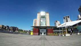 The Baltic Centre for Contemporary Art stock footage