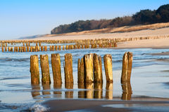 Baltic coast Royalty Free Stock Photo