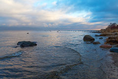 Baltic coast. Royalty Free Stock Photography