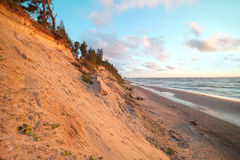 Baltic coast, Latvia. Royalty Free Stock Photo