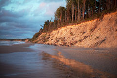 Baltic coast, Latvia. Royalty Free Stock Images