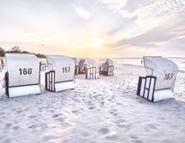 Baltic coast near Prerow Stock Images