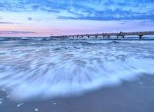 Baltic coast near Prerow Royalty Free Stock Photo