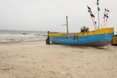 Baltic coast - Rewal, Poland. Stock Photos