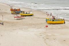 Baltic coast - Rewal, Poland. Royalty Free Stock Image