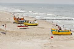 Baltic coast - Rewal, Poland. Royalty Free Stock Photos