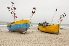 Baltic coast - Rewal, Poland. Royalty Free Stock Photo