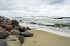 Baltic coast Royalty Free Stock Photos