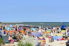 baltic dzień Europe niechorze Poland morza lato Obraz Stock