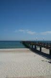 baltic heiligendamm mola morze Fotografia Royalty Free