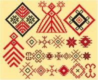 baltic pomyślności wzorów target512_0_ royalty ilustracja