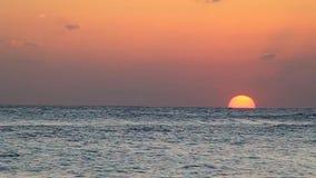 baltic słońca nad morza czarnego zbiory wideo