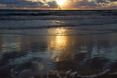 baltic słońca nad morza czarnego Zdjęcie Royalty Free