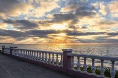 baltic słońca nad morza czarnego Svetlogorsk, Kaliningrad region Rosja zdjęcia royalty free