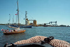Baltic sail 2010. Stock Photo