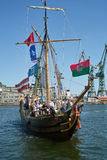Baltic sail 2010. Royalty Free Stock Photos
