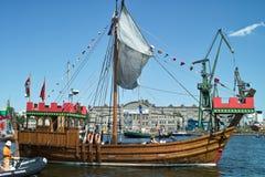 Baltic sail 2010. Stock Photo