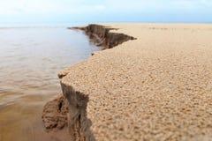 Baltic sand. Royalty Free Stock Photo