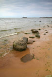 Baltic sea. At summer time royalty free stock photo