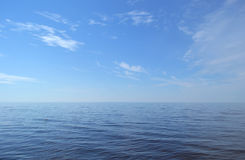 Baltic sea. View of Baltic sea in the summer sun day , Russia Royalty Free Stock Photo